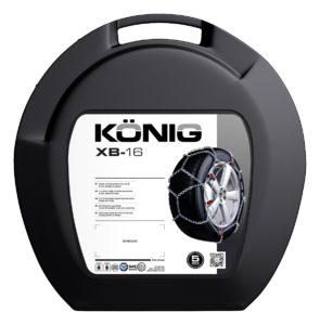 1 paio K/ÖNIG XD-16 265 Catene da Neve
